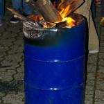 Mächtiges Feuer